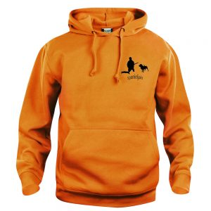 Klövviltsjakt Spaniel Orange Basic Hoodtröja