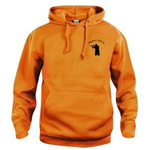 Jägare i Skåne Stående Orange Basic Hoodtröja