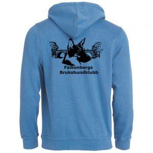 Falkenbergs Brukshundklubb Turkos Basic Hoodtröja