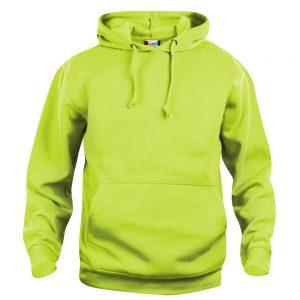 Falkenbergs Brukshundklubb Ljusgrön Basic Hoodtröja Framsida
