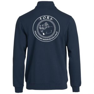 Folkatorps Ridsportsällskap Marinblå Basic Collegejacka