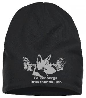 Falkenbergs Brukshundklubb Svart Mössa Fleecefoder