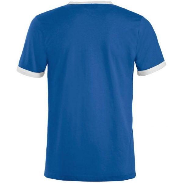Blå/Vit T-shirt Finland Baksida