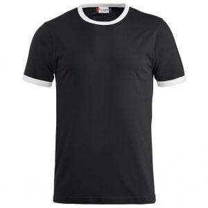 Svart/Vit T-shirt