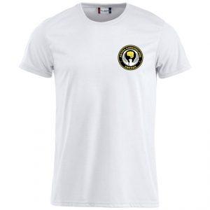 Arvika Karateklubb Vit Funktions T-shirt Bomullskänsla