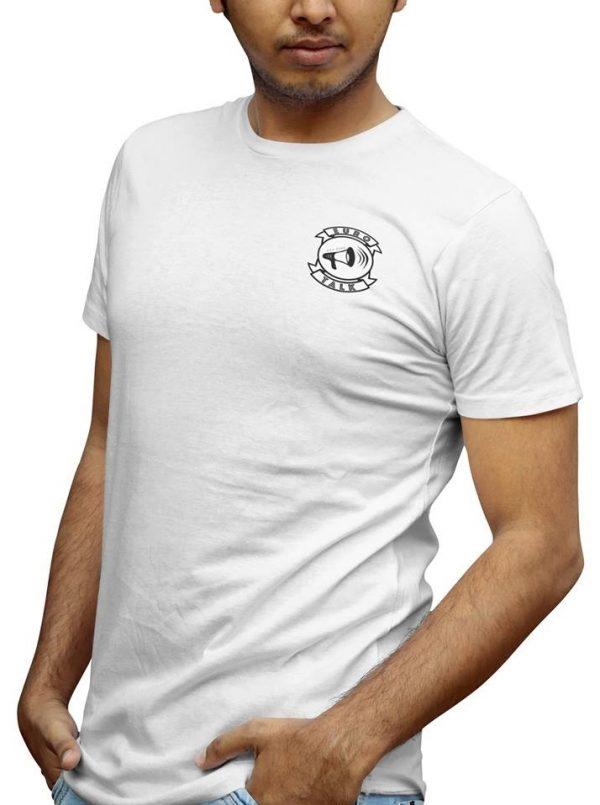 EuroTalk Vit T-shirt Exempel