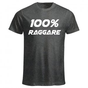 Mörkgrå T-shirt 100% Raggare