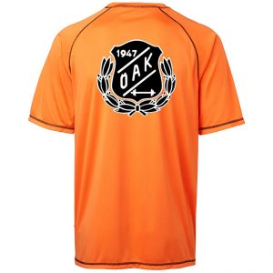 Östersunds Atletklubb Orange Funktions T-shirt Vit/Svart Logo