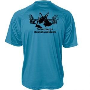 Falkenbergs Brukshundklubb Ljusblå Funktions T-shirt