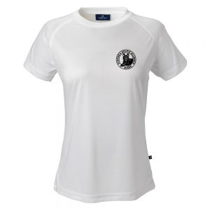 Svenska Kelpieklubben Vit Funktions T-shirt