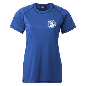 Svenska Kelpieklubben Royalblå Funktions T-shirt