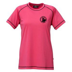Svenska Kelpieklubben Rosa Funktions T-shirt