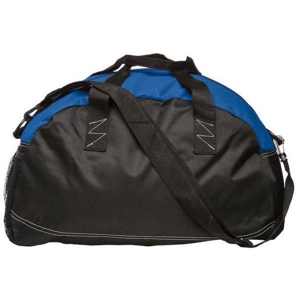 Folkatorps Ridsportsällskap Blå/Svart Basic Sportbag Baksida