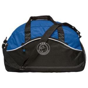 Folkatorps Ridsportsällskap Blå/Svart Basic Sportbag