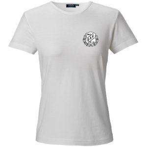 Östersunds Atletklubb Vit T-shirt Svart/Vit Logo