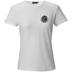 Östersunds Atletklubb Vit T-shirt Vit/Svart Logo