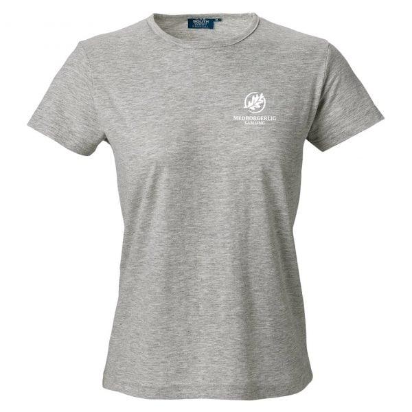 Medborgerlig Samling Gråmelerad T-shirt