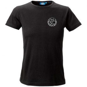 Östersunds Atletklubb Svart T-shirt Vit/Svart Logo
