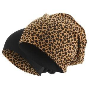 Leopard/Svart Mössa Jersey