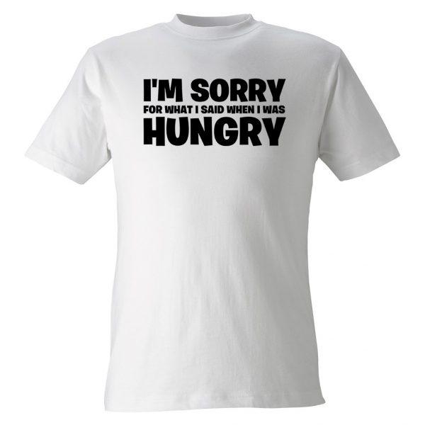 Vit I'm Sorry & Hungry T-shirt