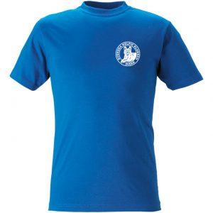 Svenska Kelpieklubben Ljusroyalblå T-shirt