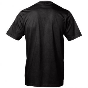 Trampolinklubben Levo Svart T-shirt Baksida