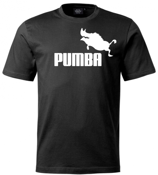 Svart Pumba T-shirt
