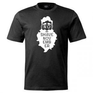 Svart T-shirt No Shave November