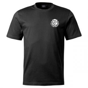 Östersunds Atletklubb Svart T-shirt Svart/Vit Logo