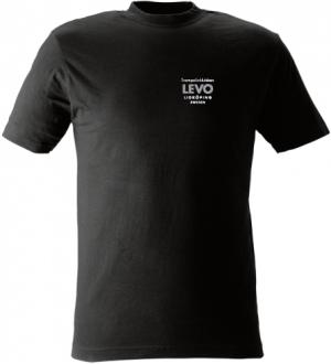 Trampolinklubben Levo Svart T-shirt