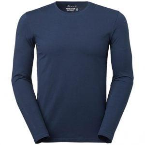 Sävsjö PK Marinblå Ekologisk Långärmad T-shirt Stretch