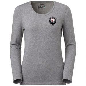 Säffle Karateklubb Grå Ekologisk Långärmad T-shirt Stretch