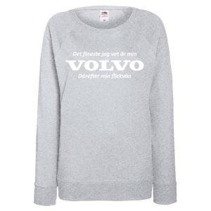 Grå Volvotröja Det Finaste