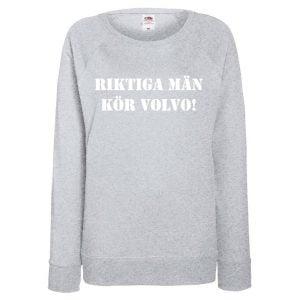 Grå Volvotröja Riktiga Män