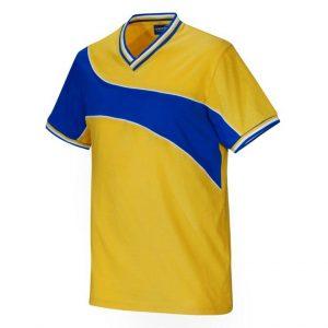 Gul/Blå T-shirt Sverige Supporter