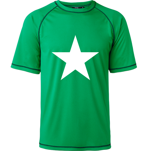 Grön Funktions T-shirt Göteborgs Roddförening