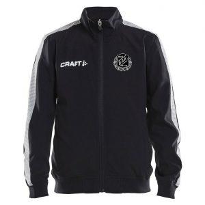 Östersunds Atletklubb Svart Träningsjacka Craft Vit/Svart Logo