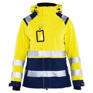 Gul/Marinblå Skaljacka Varsel Blåkläder