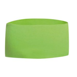 Grönt Brett Pannband Baksida