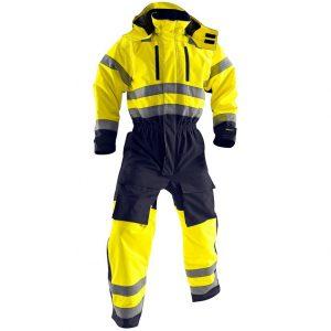 Gul/Blå Varseloverall Vinter Blåkläder