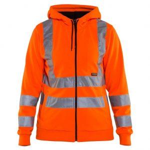 Orange Varseltröja med Huva Blåkläder