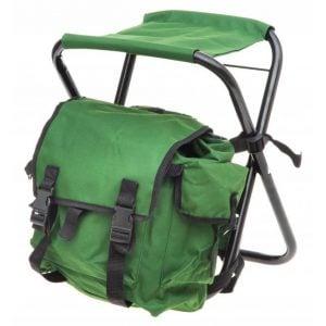 Grön Ryggsäcksstol