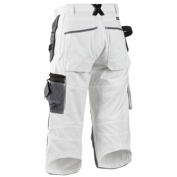 Vit/Grå Målar Piratbyxa X1500 Blåkläder Baksida