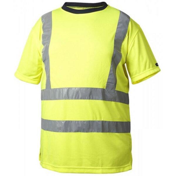 Gul Funktions T-shirt Varsel