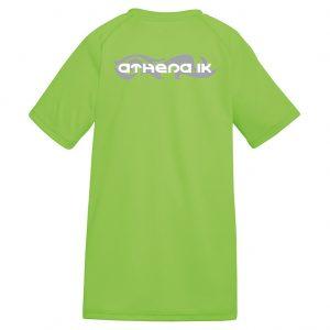 Athena IK Grön Barn Funktions T-Shirt 2017 Baksida