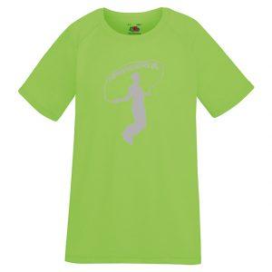 Athena IK Grön Barn Funktions T-Shirt 2017