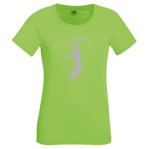 Athena IK Grön Dam Funktions T-Shirt 2017