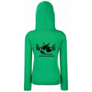 Falkenbergs Brukshundklubb Grön Hoodtröja Classic