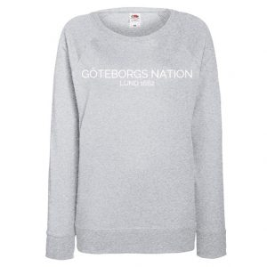 Göteborgs Nation Gråmelerad Collegetröja