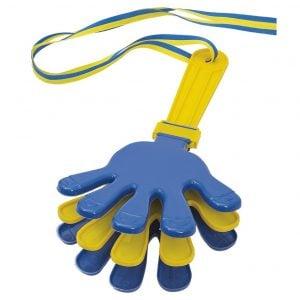 Blå/Gul Handklappa
